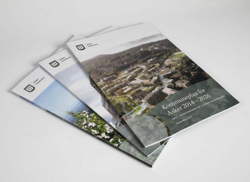 Brosjyrer og magasiner trykksak